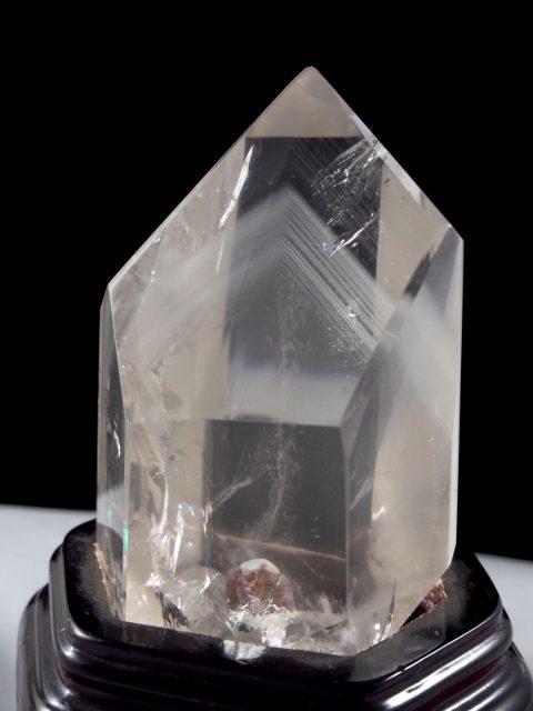 Phantomquarz Bergkristall aus Madagaskar