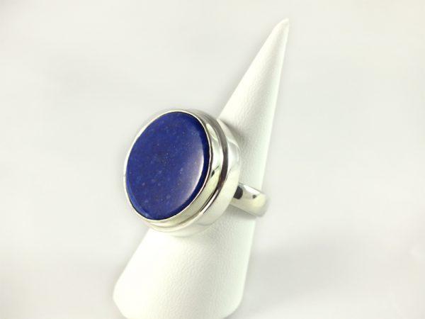 Lapis Lazuli Ring mit Silber