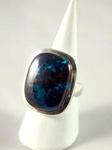 Kongo Azurit Silber Ring Wien