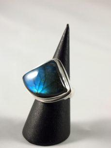 Labradorit Ring 925 Silber Singer Wien