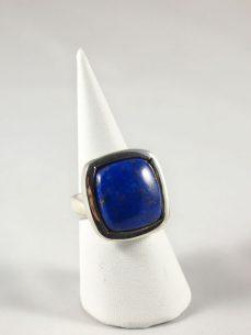 Lapis Lazuli Ring in 925 Silber