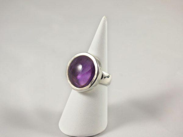 Amethyst Ring violett Singer Edelsteine