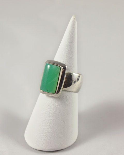 Chrysopras Ring Silber Australien