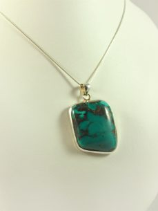 Türkis Anhänger Turquoise in Silver