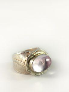 Amethyst Ring, 20, 8 gramm, Selfmade, design, zarte farbe