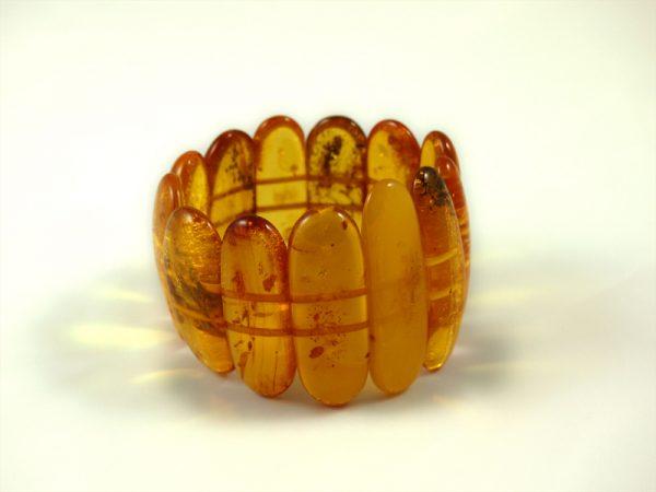 Bernstein Armbänder, 57 gramm, grosse steine, kräftiger farbton, breit