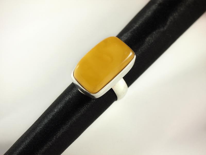 Bernstein Ring amber jewellery singer wien