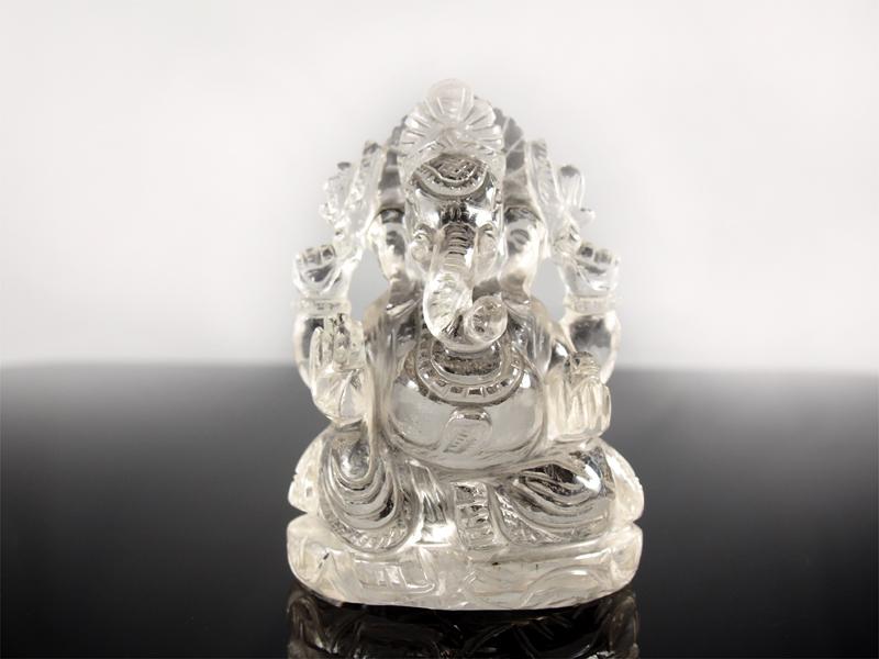 Bergkristall Ganesha Elefantengott Jaipur Indien