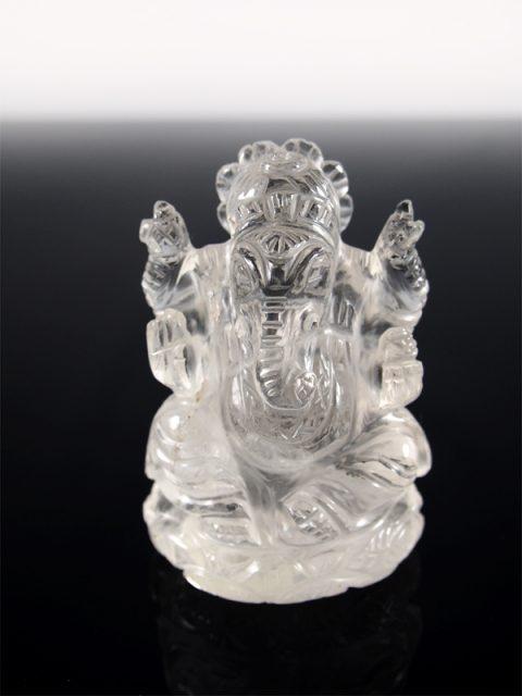 Bergkristall Ganesha Indien bei Singer Wien