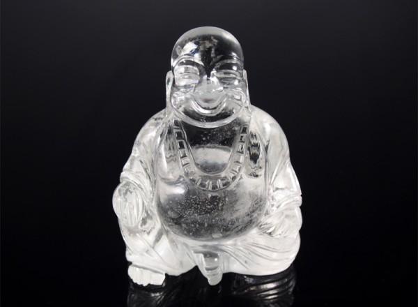 Buddha Bergkristall sehr klar