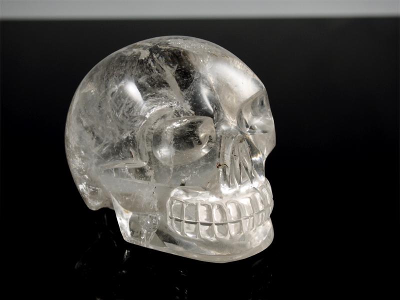 Bergkristall Schädel aus Brasilien