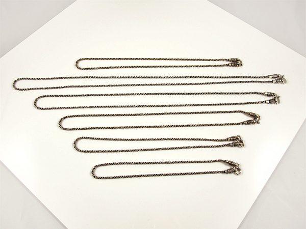 Silber Kette 925 Strickkette 40 - 80 Gramm