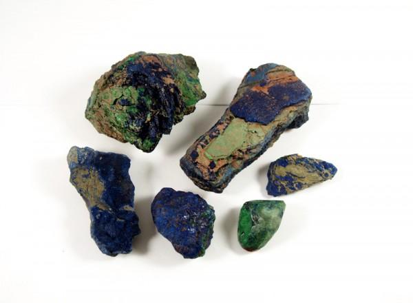 Azurit Mineral natur Katanga Kongo