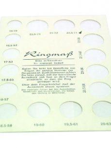 Ringgrösse berechnen