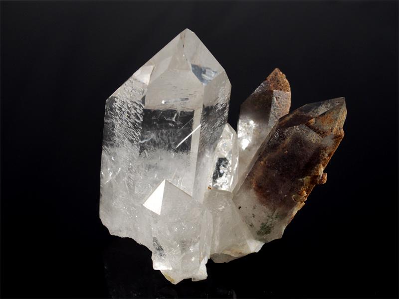 Bergkristall natur Stufe aus Brasilien