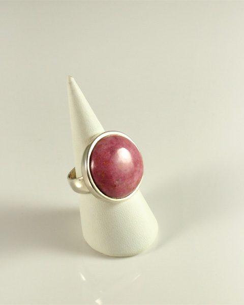 Rhodonit, rosa ohne schwarz, rund, top stein