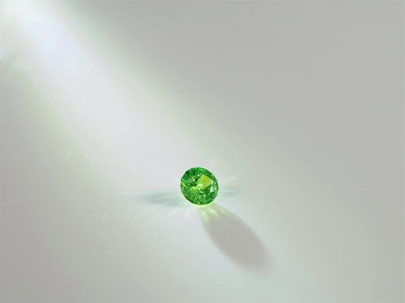 Demantoid, grüner granat, top steine, geniales feuerspiel, teuer