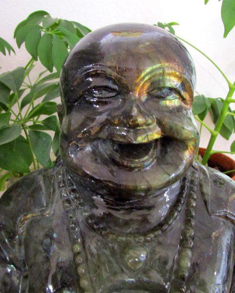 Buddha Labradorit Singer Edelsteine