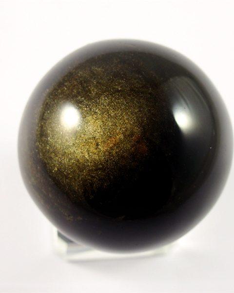 Gold-Obsidian, Kugel, Mexiko, top Qualität,